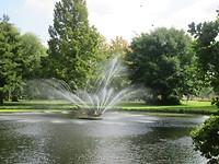 fontein in Weizigtpark