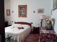 De slaapkamer in B&B