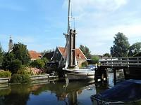 Boot door Kwakelbrug