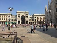 Milaan, Piazza del Duomo