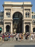 Milaan, entree Galleria