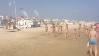 Rimini - dansen op het strand
