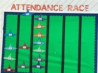 Attendace Race...