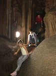 In de grotten