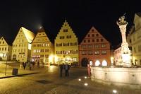 21. Rothenburg by night