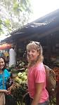 Op de markt met Nelphi en Zsuzsi