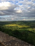 Uitzicht vanaf Vezelay, wat een ruimte!