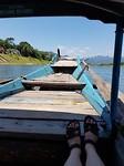 Met het bootje naar de Phong nha grot