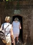 Een van de vele ingangen van de Vinh Moc tunnels