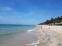 Lekker aan het strand