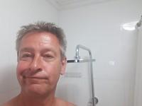 Beetje kleine douche stang