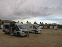 Strand bij onze camper op de camperplek in Dénia!