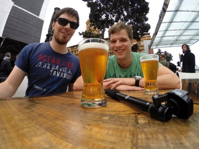 eerste activiteit in Auckland