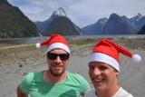 Kerstdag aan Milford Sound