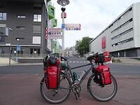 Op naar de volgende grote stad: Köln; 36 km te gaan