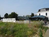 Nog even langs Maassluis en dan het laatste rechte end naar de finish!