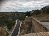 Uitzicht vanaf Alcázar, Toledo.