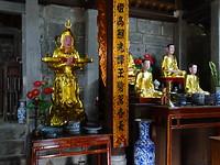 in de tempel