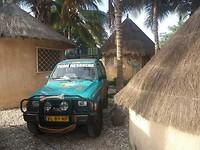 Onze slaapplaats in Dakar