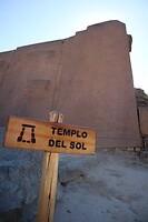 Ollantaytambo - Zon tempel
