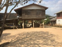 Paalwoning in Laos