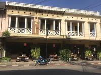 Franse koloniale stijl in Thakhek