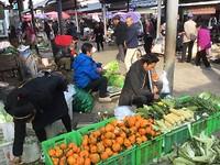 markt in Tonghai