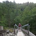 246a Wandeling van Jenstad naar de watervallen van Amotan (Oppdal)