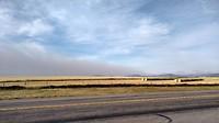 Bosbranden in Waterton Lakes
