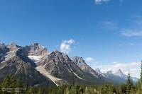De Icefields Parkway (Highway 93) in Canada