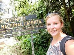 Cahuita National Park!
