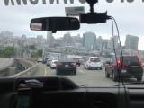 Aankomst SF met shuttlebus