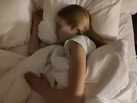 Lisanne slaapt