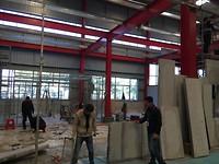 nieuw magazijn in aanbouw