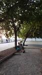 Oudjes in het parkje