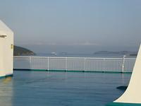 Zeer rustig aan boord