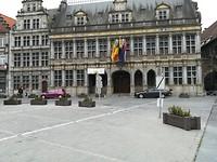 De markt van Doornik (Tournai)