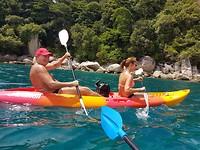 Op zee met de kano