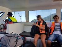 Met de ferry terug van Perhentian naar Kuala Besut