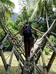 Cultural Village bamboebrug