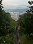 Treintje naar Penang Hill