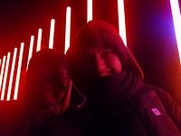 Hazel en ik bij LUMA Festival