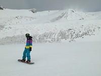 Lekker in de sneeuw gespeeld
