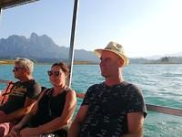 Genieten op de boot