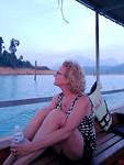 Tijdens de ochtend safari van de Lake Overnight Tour