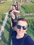 Selfie in het veld :)