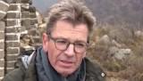 Badaling: impressie van een rustig stuk van de Chinese Muur