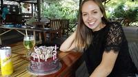 Verjaardagstaart voor Myrinne