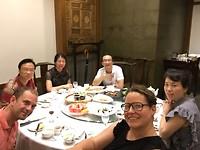 avondeten in Baoding