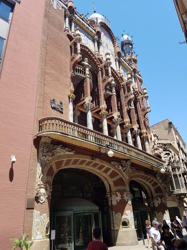 Onderweg in Barcelona